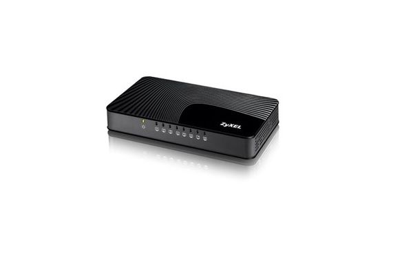 ZyXEL - GS-108SV2 8-Port Desktop Gigabit Ethernet Media Switch